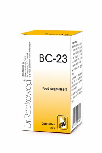 Schuessler BC23 combination cell salt - tissue salt